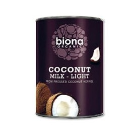 latte di cocco light biologico