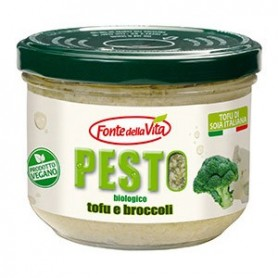 pesto vegetale biologico tofu e broccoli