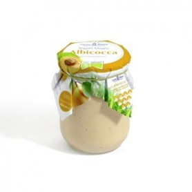 yogurt magro all'albicocca con probiotici biologici
