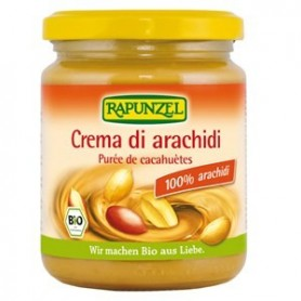 crema 100% arachidi biologiche