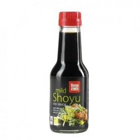 salsa di soia shoyu biologico con dispenser