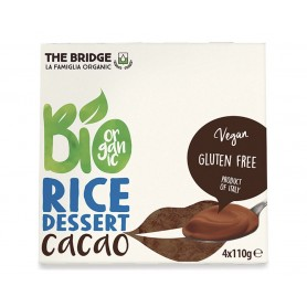 Bio rice dessert al cacao vegan bio the bridge